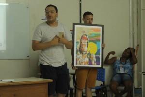 Gabriel Rodrigues fala da arte oficial do Cartaz do ENPJ