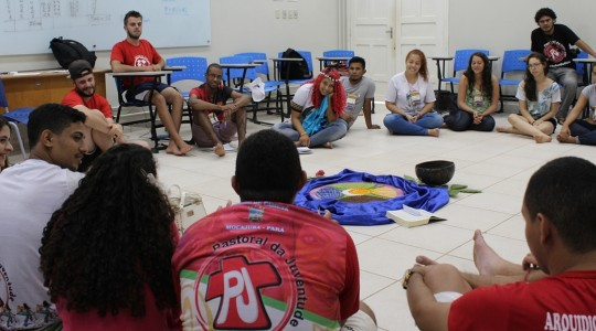 Delegados as   participaram de rodas de conversas (Foto: Phamela Conde).