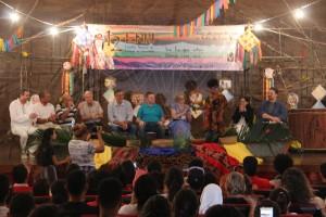 Religiosos participam de Celebração Ecumênica (Foto: Christopher Douglas).