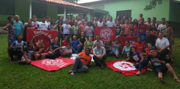 Encontro de Formação para as Equipes de Coordenação e Assessoria da Juventude em Paragominas contou com cerca de 75 jovens.